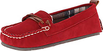 Clarks Moccasin Womens, Red 11 M US