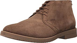 Geox Mens Brandled 3 Oxford, Brown, 41 EU/8 M US