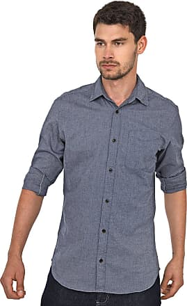 Jack & Jones Camisa Jack & Jones Reta Bolso Azul