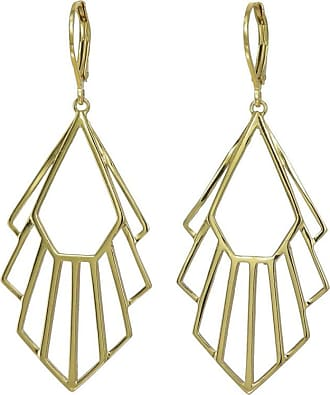 Zoe & Morgan Gold Flossie Ohrringe - One Size - Gold