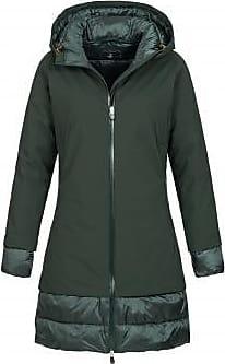 Mantel Damen Mantel Grün Gr. 44 von Alcron