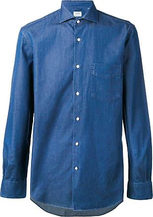 Aspesi Camisa lisa - Azul