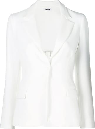 P.A.R.O.S.H. fitted blazer - White