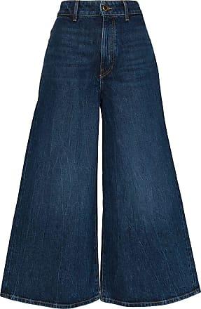 Khaite Calça jeans pantalona Darcy - Azul