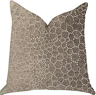 Plutus Brands Bubbly Gal Double Sided Queen Luxury Throw Pillow 20 x 30 Beige