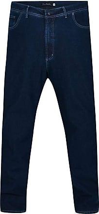 Pierre Cardin Calça Jeans Plus Size Índigo Guide 60