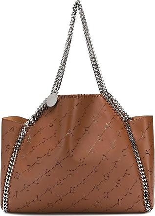 8bc58290586c Stella McCartney Fallabela logo-embossed tote bag - Brown