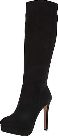 Jessica Simpson Womens Rollin Fashion Boot, Black, 10