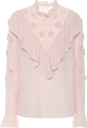 See By Chloé Bestickte Bluse