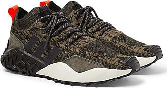 adidas Originals Atric F/2 Tr Suede-trimmed Primeknit Sneakers - Brown