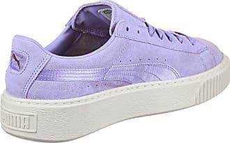 Puma Suede Platform W Schuhe lila