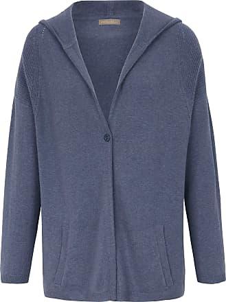 include Cardigan hood in Pure cashmere in premium qua include blue