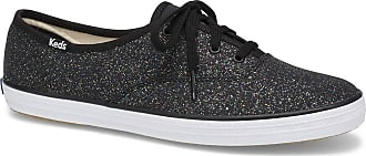 Keds Womens Champion Sneaker, Black, 050 M US
