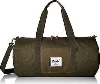 Herschel Sutton Mid-Volume Duffel Bag, Crosshatch/Olive Night, One Size