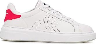 John Richmond Perforierte Sneakers - Weiß