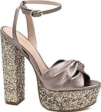 Rachel Zoe Womens Claudette W/Glitter Platform, Blush Multi, 8 M US