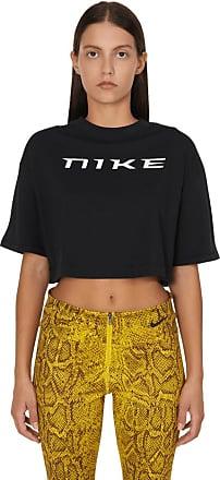 Nike Nike sportswear Crop t-shirt BLACK/WHITE L