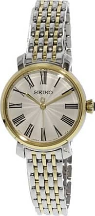 Seiko Womens SRZ496 Silver Stainless-Steel Japanese Quartz Dress Watch