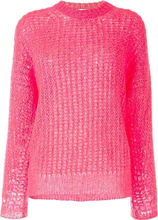 Iro Suéter de tricô com mangas bufantes - Rosa