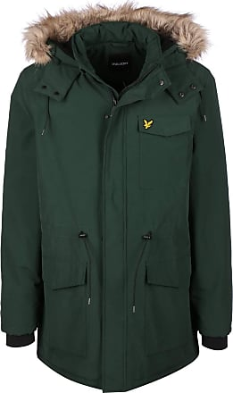 Lyle & Scott Lyle and Scott Men Winterweight Microfleece Lined Parka - XXL Jade Green