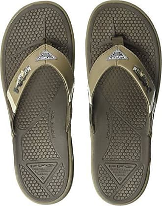 11535b783004 Columbia PFG Mens Fish FLIP PFG Fisherman Sandal mud