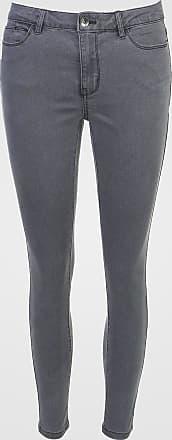 Vero Moda Calça Sarja Vero Moda Skinny Lisa Cinza