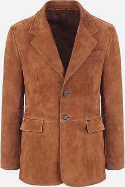 giacca da uomo pelle prada
