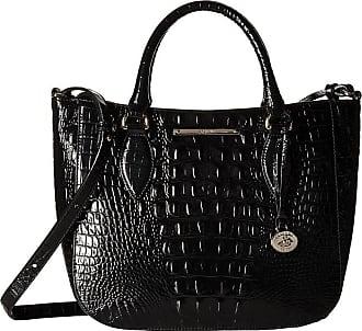 Brahmin Melbourne Small Lena Bag Black Handbags
