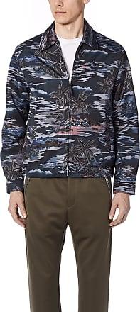 Coach 1941 Printed Blouson Jacket - Hawaiian Black