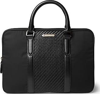 Ermenegildo zegna accessories sale up to 70 stylight ermenegildo zegna pelle tessuta leather and nylon briefcase reheart Image collections
