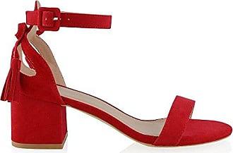 sandalen in rot 485 produkte bis zu 70 stylight. Black Bedroom Furniture Sets. Home Design Ideas