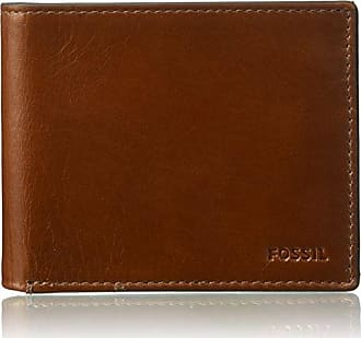 Fossil business card holders for men browse 18 items stylight fossil mens rfid flip id bifold wallet hugh cognac colourmoves