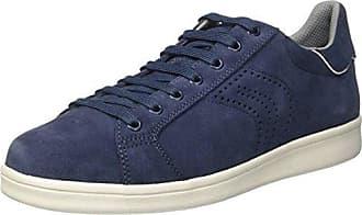 Herren U Warrens B Sneakers, Blau (Lt Navyc4343), 44 EU Geox