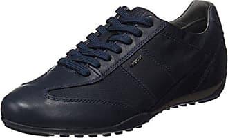 Geox U Wells A Zapatillas Hombre, Castaño (Dk Taupe/Anthracite), 45 EU amazon-shoes el-negro Zapatillas bajas