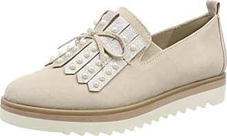 Marco Tozzi Premio 23704, Zapatos de Cordones Brogue para Mujer, Rosa (Rose Met. Comb), 39 EU