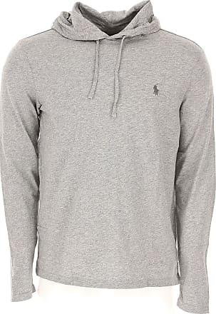 Ralph Lauren Sweatshirt for Men On Sale, Grey, Cotton, 2017, M S XL