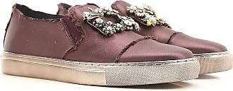 Ras Sneaker Donna In Saldo, Bordeaux Porpora, raso, 2017, 35 37 39 40