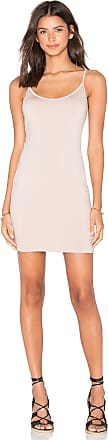 Gisele Slip Dress in Tan Three Dots