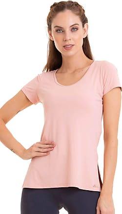 Cajubrasil T-Shirt Slit Básica Rosa P
