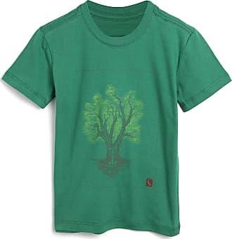 Reserva Mini Camiseta Reserva Mini Infantil Árvore Verde