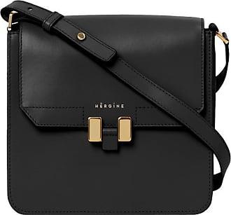 Maison Héroïne Handtasche Damen, Tilda Tablet Mini, Black