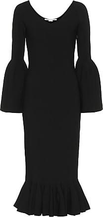 Stella McCartney Ribbed-knit midi dress