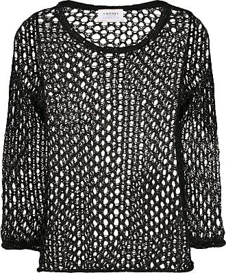 Snobby Sheep Blusa de tricô - Preto