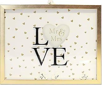 Lawrence Frames 10x13 Wedding Heart Signature Tiles Shadow Box Frame 11x13 Gold