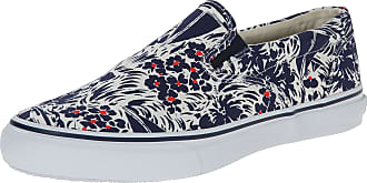 Sperry Top-Sider Slippers Sperry Men Fabric Navy, White and Orange STS10872JUNGLENAVY Blue 10.5UK