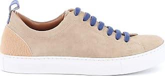 Jacob Cohen Fashion Man JACK91002302 Beige Suede Sneakers | Spring Summer 20