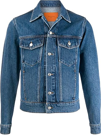 Sandro fitted denim jacket - Blue