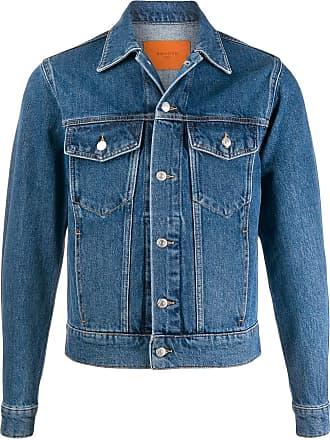 Sandro Jaqueta jeans slim - Azul
