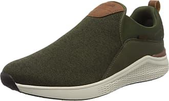 Kangaroos Mens Ka-Strip Low-Top Sneakers, Green (Olive 8012), 10.5/11 UK