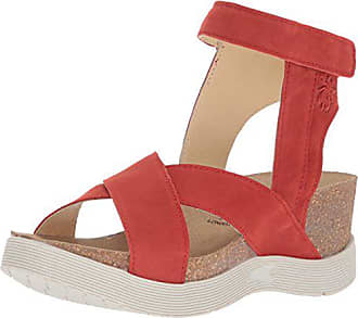 bdd522926436 FLY London Womens WEEL177FLY Sandal Scarlet Cupido 36 M EU (5.5-6 US)